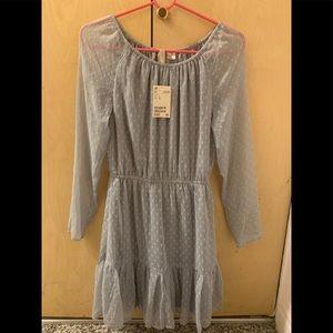 H&M Boho Style Long Sleeve Dress